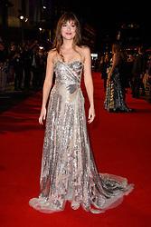 Dakota Johnson attending the Suspiria Premiere as part of the BFI London Film Festival at Cineworld Cinema in London. Picture date: Tuesday October 16th, 2018. Photo credit should read: Matt Crossick/ EMPICS Entertainment.