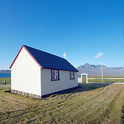 Small chapel at Icelands Eastfjords