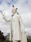 Greece, Macedonia, Thessaloniki, the statue of Eleftherios Kyriakou Venizelos on Dikastirion square