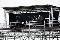 A general view the TV camera gantry inside Kenilworth Road, home of Luton Town<br /> <br /> Photographer Alex Dodd/CameraSport<br /> <br /> The EFL Sky Bet Championship - 191123 Luton Town v Leeds United - Saturday 23rd November 2019 - Kenilworth Road - Luton<br /> <br /> World Copyright © 2019 CameraSport. All rights reserved. 43 Linden Ave. Countesthorpe. Leicester. England. LE8 5PG - Tel: +44 (0) 116 277 4147 - admin@camerasport.com - www.camerasport.com