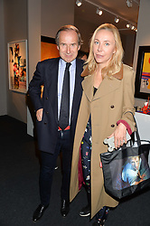 SIMON & MICHAELA DE PURY at the PAD London 10th Anniversary Collector's Preview, Berkeley Square, London on 3rd October 2016.