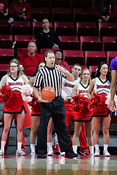 NORMAL, IL - January 05:  Pat Boeh during a college basketball game between the ISU Redbirds and the University of Evansville Purple Aces on January 05 2019 at Redbird Arena in Normal, IL. (Photo by Alan Look)