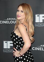 May 25, 2018 - Los Angeles, California, USA - 5/24/18.Renee Olstead at the premiere of ''Feral'' held at the Arena Cinelounge in Hollywood..(Los Angeles, CA) (Credit Image: © Starmax/Newscom via ZUMA Press)