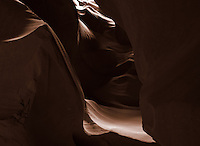 Upper Antelope Canyon, Page Arizona. Image taken with a Nikon D3 camera and 14-24 mm f/2.8 lens (ISO 200, 24 mm, f/16, 15 sec). Image processed with Capture One Pro.