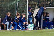 BILTHOVEN -  Hoofdklasse competitiewedstrijd dames, SCHC v hdm, seizoen 2020-2021.<br /> Foto: Bank hdm