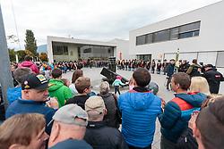 02.10.2015, Nussdorf Gebannt, AUT, Empfang für UCI Juniorenweltmeister Felix Gall, im Bild Übersicht // during the official reception for the UCI Junior World Champion Felix Gall in his home town. Nussdorf Decant, Austria on 2015/10/02. EXPA Pictures © 2015, PhotoCredit: EXPA/ Johann Groder