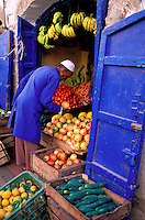 Maroc. Essaouira. Patrimoine mondial de l'UNESCO. La Medina // Morocco. Medina of Essaouira. Atlantic coast.