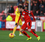 Crawley Town midfielder Gwion Edwards during the Sky Bet League 2 match between Crawley Town and Bristol Rovers at the Checkatrade.com Stadium, Crawley, England on 21 November 2015. Photo by Bennett Dean.