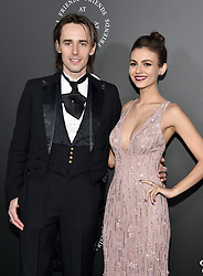Reeve Carney, Victoria Justice attend the Art Of Elysium's 11th Annual Celebration - Heaven on January 6, 2018 in Santa Monica, California. Photo by Lionel Hahn/ABACAPRESS.COM