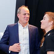 NLD/Veghel/20181221 - Presentatie van Team Jumbo, Frits van Eerd in gesprek met Antoinette de Jong