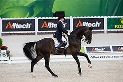 Maria Ines Garcia, (COL), Kupfermann - Grand Prix Team Competition Dressage - Alltech FEI World Equestrian Games™ 2014 - Normandy, France.<br /> © Hippo Foto Team - Leanjo de Koster<br /> 25/06/14