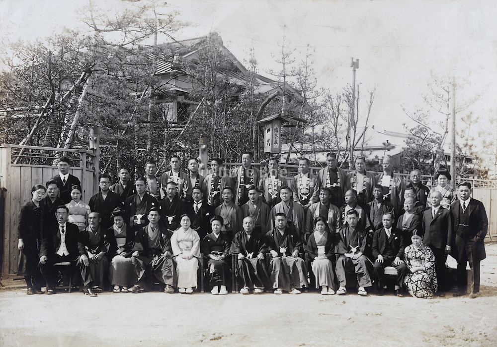 large group portrait Yokosuka Japan May 1935