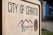 City of Cerritos Coyote Creek Trail Monument