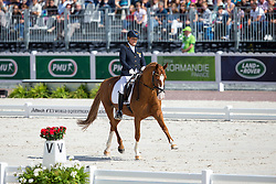 Hannelore Brenner, (GER), Women of the World - Freestyle Test Grade III Para Dressage - Alltech FEI World Equestrian Games™ 2014 - Normandy, France.<br /> © Hippo Foto Team - Leanjo de Koster<br /> 25/06/14
