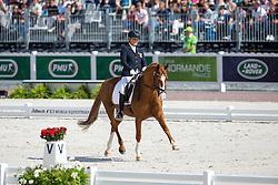 Hannelore Brenner, (GER), Women of the World - Freestyle Test Grade III Para Dressage - Alltech FEI World Equestrian Games™ 2014 - Normandy, France.<br /> © Hippo Foto Team - Leanjo de Koster<br /> 25/06/14