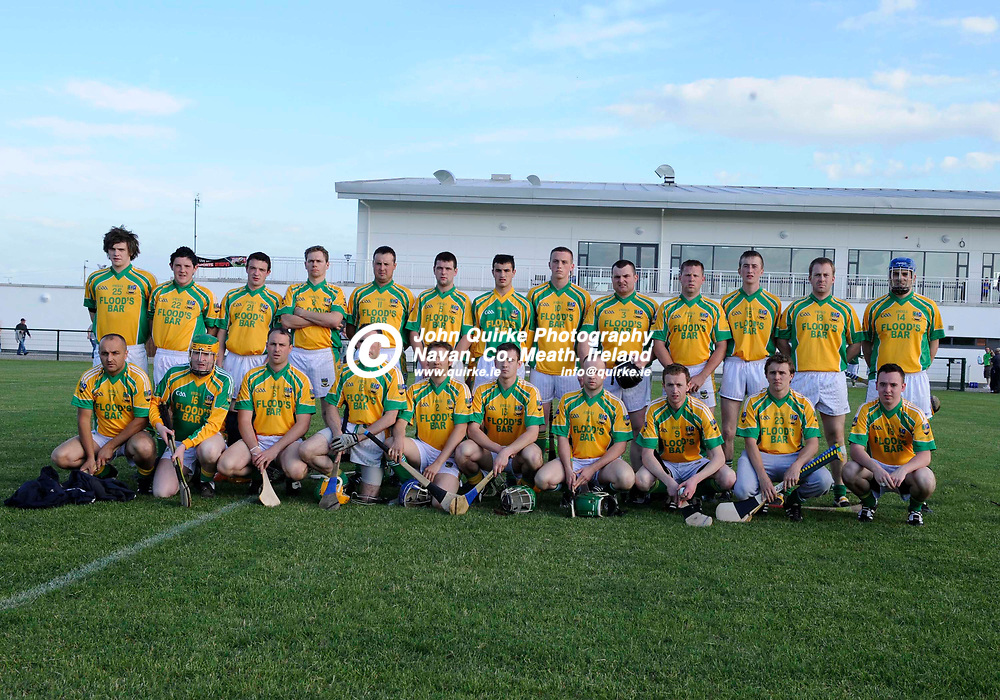 02-06-10. Kildalkey v Clann na nGael - Martin Donnelly & Co. Meath Senior Hurling Champinship at Trim.<br /> The Clann na nGael panel which lost to Kildalkey L to R. Back: Shane Ennis, Keith Doherty, Eddie Doherty, Darren Heany, Paul Daly, Declan O'Shea, Ciaran Fitzsimons, Aaron Ennis, Pat Shore, Gary Woods, Paddy Geraghty, Anthony Sheridan, Gearoid Brathnach.<br /> Front: Barry Doherty, Mark Geraghty, Gary Mankan, Matthew Mullen, Andrew McCormack, Sean Fitzsimons, Trevor Matthews, Daithi Geraghty, Barry Higgins and Michael Murphy.<br /> Photo: John Quirke / www.quirke.ie<br /> ©John Quirke Photography, Unit 17, Blackcastle Shopping Cte. Navan. Co. Meath. 046-9079044 / 087-2579454.