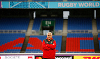 Rugby Union - 2019 Rugby World Cup - Wales Training Captain's Run pre-Semi-Final <br /> <br /> Warren Gatland Wales head coach at International Stadium Yokohama, Kanagawa Prefecture, Yokohama City.<br /> <br /> COLORSPORT/LYNNE CAMERON