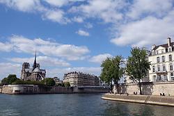 January 5, 2019 - Paris, Paris, China - Aerial Photography of Seine River in Paris, France. (Credit Image: © SIPA Asia via ZUMA Wire)