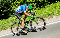 Jaka Primozic (SLO) of Slovenija National Team during last Stage 4 of 24th Tour of Slovenia 2017 / Tour de Slovenie from Rogaska Slatina to Novo mesto (158,2 km) cycling race on June 18, 2017 in Slovenia. Photo by Vid Ponikvar / Sportida