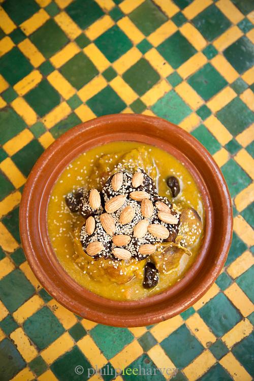 Moroccan Tagine Barbook, Lamb, at Khan Murjan, United Arab Emirates