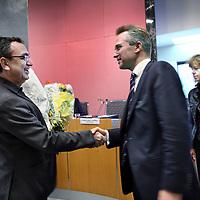 Nederland, Amsterdam , 12 oktober 2011..de PvdA-fractie in de Amsterdamse gemeenteraad een nieuw raadslid; Ahmet Olgun (1965).Foto:Jean-Pierre Jans