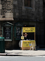 Free - the church provides the nickel - Spiritual Help offered at the  Immanuel Lutheran church on Lexington Avenue and 88th street in New York City.