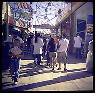 Coney Island amusement park.