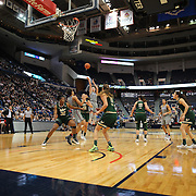 HARTFORD, CONNECTICUT- JANUARY 10:  Katie Lou Samuelson #33 of the Connecticut Huskies shoots for three during the the UConn Huskies Vs USF Bulls, NCAA Women's Basketball game on January 10th, 2017 at the XL Center, Hartford, Connecticut. (Photo by Tim Clayton/Corbis via Getty Images)