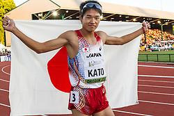 mens 400 meters, Nobuya Kato, Japan, 2nd