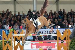 Meyer Janne-Friederike, (GER), Goya<br /> Preis der LVM Versicherung<br /> Hagen - Horses and Dreams 2015<br /> 25/04/15