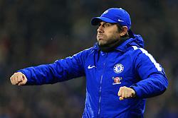 12th December 2017 - Premier League - Huddersfield Town v Chelsea - Chelsea manager Antonio Conte - Photo: Simon Stacpoole / Offside.