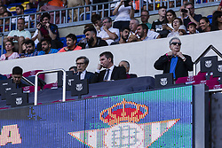 August 20, 2017 - Barcelona, Catalonia, Spain - Robert Fernandez and Ariedo Braida (c) of FC Barcelona during the match between FC Barcelona vs Real Betis Balompie, for the round 1 of the Liga Santander, played at Camp Nou Stadium on 20th August 2017 in Barcelona, Spain. (Credit Image: © Urbanandsport/NurPhoto via ZUMA Press)