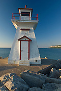 Lighthouse on Georgian Bay<br /> Lions Head<br /> Ontario<br /> Canada