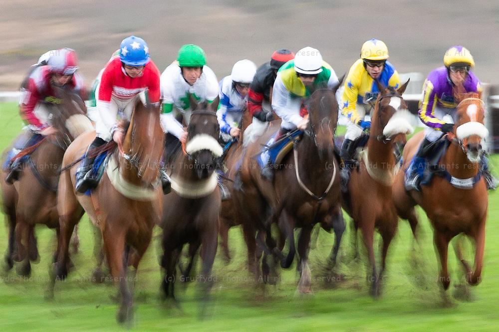 Ffos Las Racecourse, Trimsaran, Wales, UK.