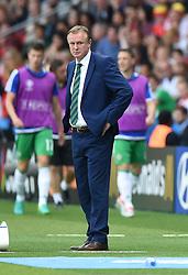 Northern Ireland Manager Michael O'Neill  - Mandatory by-line: Joe Meredith/JMP - 25/06/2016 - FOOTBALL - Parc des Princes - Paris, France - Wales v Northern Ireland - UEFA European Championship Round of 16