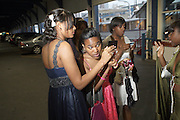 """Prom Attendees at  """" The Ultimate Prom"""" presented by Universal Motown and Mypromstyle.com held at Pier 60 at Chelsea Piers in New York City."""