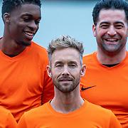 NLD/Zeist/20191123 - Voetbal selectiedag Nederlandse artiesten, Rwan van Peperstraten en Charly Luske
