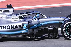February 18, 2019 - Barcelona, Barcelona, Spain - Valtteri Bottas fo Finland with 77 of Mercedes AMG Petronas Motorsport W10 during the Formula 1 2019 Pre-Season Tests at Circuit de Barcelona - Catalunya in Montmelo, Spain on February 18. (Credit Image: © Xavier Bonilla/NurPhoto via ZUMA Press)