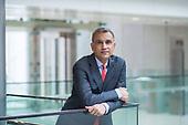 Portrait of Vinay Dube, CEO of Jet Airways