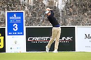 Niall Turner (IRL) on the 3rd tee during Round 3 of the Northern Ireland Open in Association with Sphere Global & Ulster Bank at Galgorm Castle Golf Club on Saturday 8th August 2015.<br /> Picture:  Thos Caffrey / www.golffile.ie