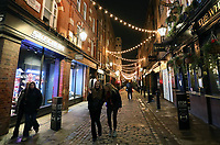people out around Covent Gardens London as the tthe second coronavirus lockdown ends photo by Roger Alarcon