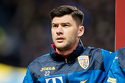 March 23, 2019 - Stockholm, SWEDEN - 190323  Cristian Sapunaru of Romania ahed of the UEFA Euro Qualifier football match between Sweden and Romania on March 23, 2019 in Stockholm. (Credit Image: © Mathilda Ahlberg/Bildbyran via ZUMA Press)