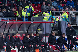 during the match there was a reanimation during the Dutch Eredivisie match between AZ Alkmaar and VVV Venlo at AFAS stadium on February 10, 2018 in Alkmaar, The Netherlands