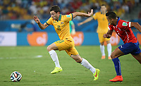 June 13 2014  Australia s Tommy oar Controls The Ball during A Group B Match between Chile and Australia of 2014 FIFA World Cup in The Arena  Stage in  Brazil June 13 2014 Xinhua left Ming RH SP Brazil  World Cup 2014 Group B Chile vs Australia <br /> <br /> Norway only<br /> INNGÅR IKKE I FASTAVTALER