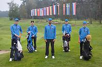 HILVERSUM -  Team Slovenia.  ELTK Golf  2020 The Dutch Golf Federation (NGF), The European Golf Federation (EGA) and the Hilversumsche Golf Club will organize Team European Championships for men.  COPYRIGHT KOEN SUYK