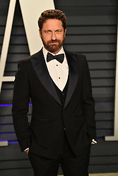 Gerard Butler attending the 2019 Vanity Fair Oscar Party hosted by editor Radhika Jones held at the Wallis Annenberg Center for the Performing Arts on February 24, 2019 in Los Angeles, CA, USA. Photo by David Niviere/ABACAPRESS.COM