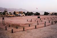 Aqaba is Jordan's only coastal city. Archaeological dig.