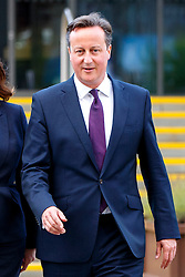 © Licensed to London News Pictures. 06/10/2015. Manchester, UK. Prime Minister David Cameron attending Conservative Party Conference at Manchester Central on Tuesday, 6 October 2015. Photo credit: Tolga Akmen/LNP