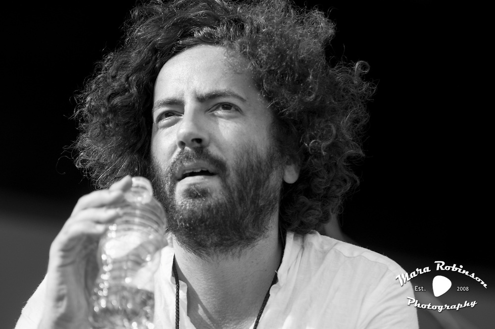 Dan Bejar, Destroyer at Pitchfork Music Festival 2011, concert photography by Cleveland music photographer Mara Robinson Photography