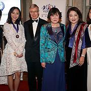 London,England,UK. 31th March 2017: Jin Shu Hui,Huilin Proctor,Jin Shu Li  and Lui Jing attends the Athene Festival 2017 at Guildhall,London,UK. by See Li